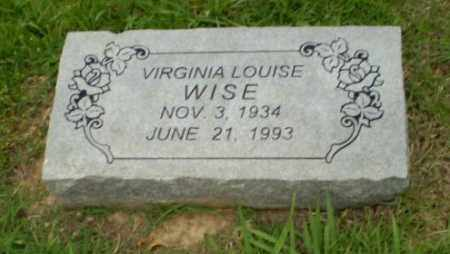 WISE, VIRGINIA - Craighead County, Arkansas | VIRGINIA WISE - Arkansas Gravestone Photos