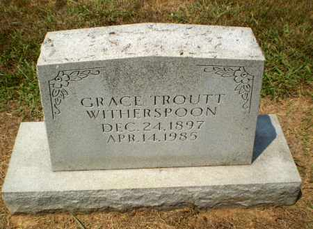 TROUTT WITHERSPOON, GRACE - Craighead County, Arkansas | GRACE TROUTT WITHERSPOON - Arkansas Gravestone Photos