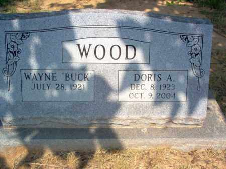 SCOTT WOOD, DORIS AVAJEAN - Craighead County, Arkansas | DORIS AVAJEAN SCOTT WOOD - Arkansas Gravestone Photos