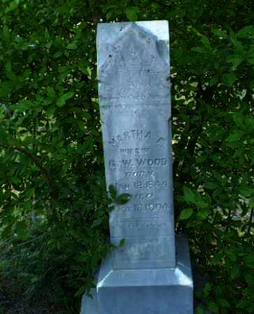 WOOD, MARTHA F - Craighead County, Arkansas | MARTHA F WOOD - Arkansas Gravestone Photos