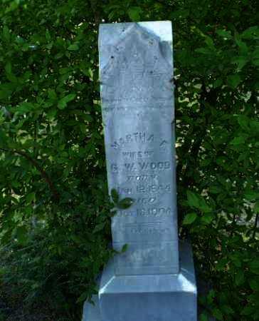 WOOD, MARTHA F - Craighead County, Arkansas | MARTHA F WOOD - Arkansas Gravestone Photos