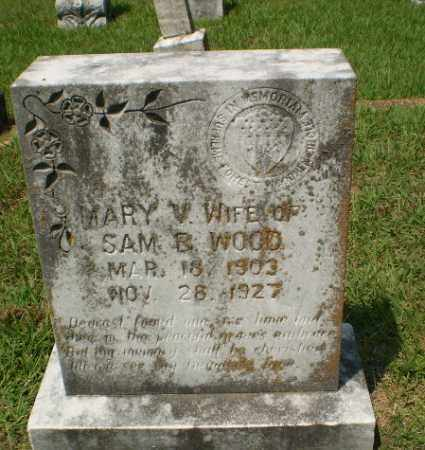 WOOD, MARY V - Craighead County, Arkansas | MARY V WOOD - Arkansas Gravestone Photos