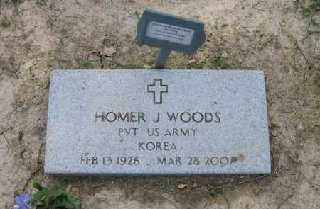 WOODS (VETERAN KOR), HOMER J. - Craighead County, Arkansas | HOMER J. WOODS (VETERAN KOR) - Arkansas Gravestone Photos
