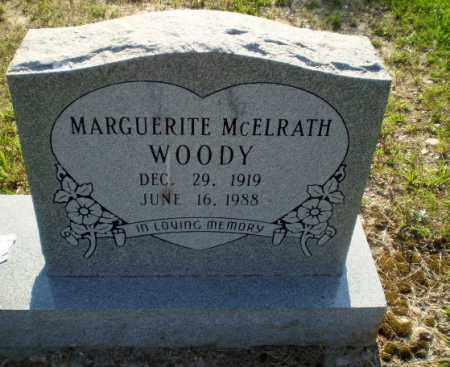 MCELRATH WOODY, MARGUERITE - Craighead County, Arkansas | MARGUERITE MCELRATH WOODY - Arkansas Gravestone Photos