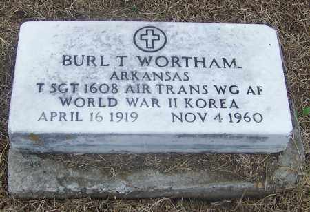 WORTHAM  (VETERAN 2 WARS), BURL T. - Craighead County, Arkansas | BURL T. WORTHAM  (VETERAN 2 WARS) - Arkansas Gravestone Photos