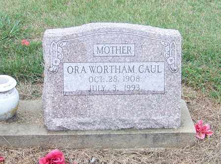 WORTHAM CAUL, ORA - Craighead County, Arkansas | ORA WORTHAM CAUL - Arkansas Gravestone Photos
