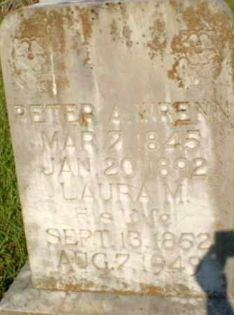 WRENN, PETER A - Craighead County, Arkansas | PETER A WRENN - Arkansas Gravestone Photos