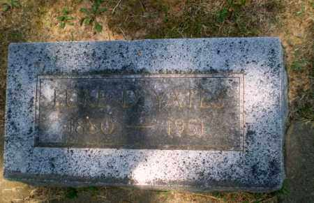 YATES, LUKE D - Craighead County, Arkansas | LUKE D YATES - Arkansas Gravestone Photos