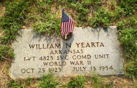 YEARTA  (VETERAN WWII), WILLIAM N - Craighead County, Arkansas | WILLIAM N YEARTA  (VETERAN WWII) - Arkansas Gravestone Photos