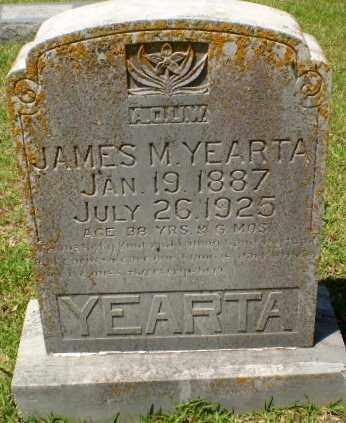 YEARTA, JAMES M. - Craighead County, Arkansas | JAMES M. YEARTA - Arkansas Gravestone Photos