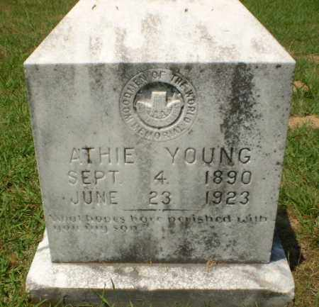 YOUNG, ATHIE - Craighead County, Arkansas | ATHIE YOUNG - Arkansas Gravestone Photos