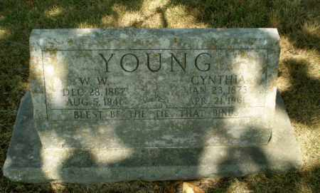 YOUNG, W.W. - Craighead County, Arkansas | W.W. YOUNG - Arkansas Gravestone Photos