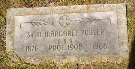 ZUBLER, SISTER M. MARGARET - Craighead County, Arkansas | SISTER M. MARGARET ZUBLER - Arkansas Gravestone Photos