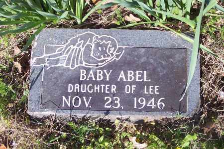 ABEL, BABY - Crawford County, Arkansas | BABY ABEL - Arkansas Gravestone Photos