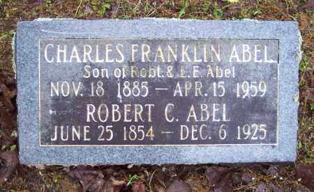 ABEL, CHARLES FRANKLIN - Crawford County, Arkansas | CHARLES FRANKLIN ABEL - Arkansas Gravestone Photos