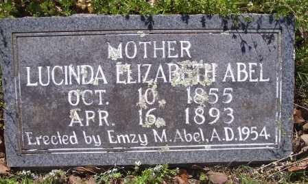 ABEL, LUCINDA ELIZABETH - Crawford County, Arkansas | LUCINDA ELIZABETH ABEL - Arkansas Gravestone Photos
