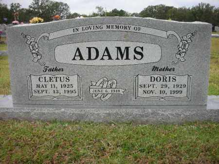 ADAMS, DORIS - Crawford County, Arkansas | DORIS ADAMS - Arkansas Gravestone Photos