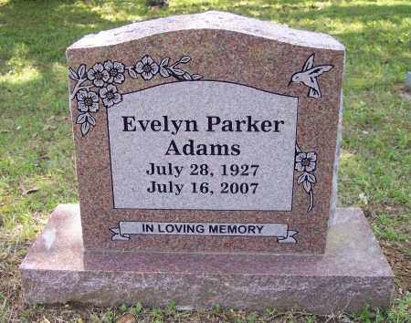 ADAMS, EVELYN  PARKER - Crawford County, Arkansas | EVELYN  PARKER ADAMS - Arkansas Gravestone Photos