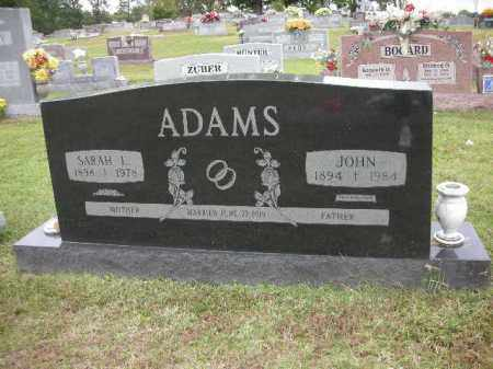 ADAMS, SARAH ELIZABETH - Crawford County, Arkansas | SARAH ELIZABETH ADAMS - Arkansas Gravestone Photos