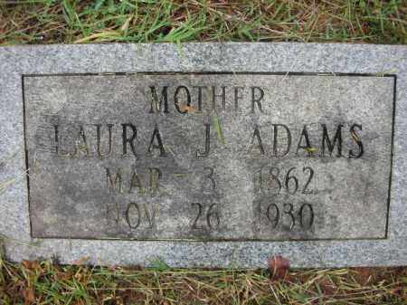 WATSON ADAMS, LAURA JANE - Crawford County, Arkansas | LAURA JANE WATSON ADAMS - Arkansas Gravestone Photos
