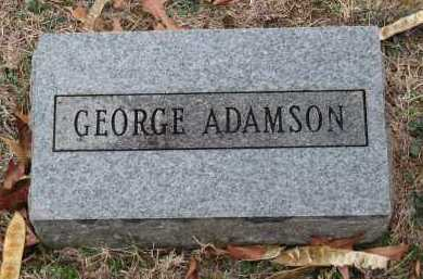 ADAMSON, GEORGE - Crawford County, Arkansas | GEORGE ADAMSON - Arkansas Gravestone Photos