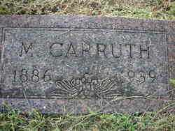 CARRUTH ALEXANDER, M. - Crawford County, Arkansas | M. CARRUTH ALEXANDER - Arkansas Gravestone Photos