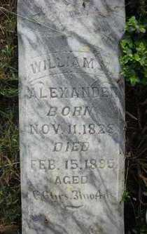 ALEXANDER, WILLIAM M. - Crawford County, Arkansas | WILLIAM M. ALEXANDER - Arkansas Gravestone Photos