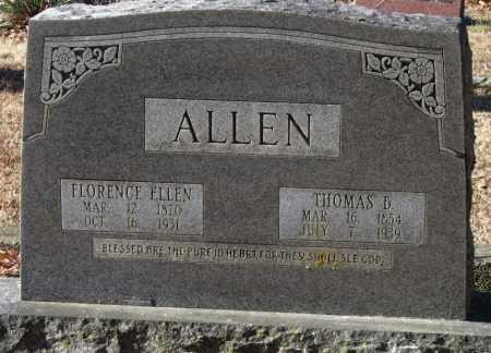 ALLEN, FLORENCE ELLEN - Crawford County, Arkansas | FLORENCE ELLEN ALLEN - Arkansas Gravestone Photos
