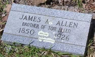 ALLEN, JAMES A - Crawford County, Arkansas | JAMES A ALLEN - Arkansas Gravestone Photos