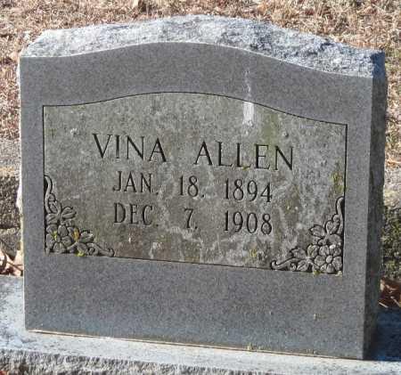 ALLEN, VINA - Crawford County, Arkansas | VINA ALLEN - Arkansas Gravestone Photos