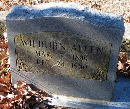 ALLEN, WILBURN - Crawford County, Arkansas   WILBURN ALLEN - Arkansas Gravestone Photos