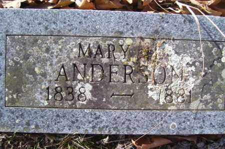 ANDERSON, MARY M - Crawford County, Arkansas | MARY M ANDERSON - Arkansas Gravestone Photos