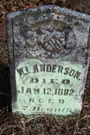 ANDERSON, WILLIAM J - Crawford County, Arkansas | WILLIAM J ANDERSON - Arkansas Gravestone Photos