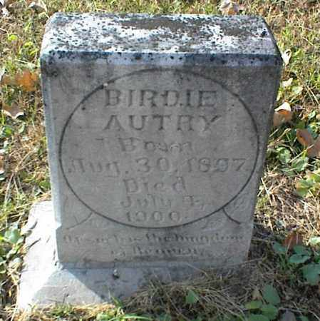 AUTRY, BIRDIE - Crawford County, Arkansas | BIRDIE AUTRY - Arkansas Gravestone Photos