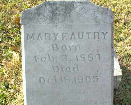 AUTRY, MARY F. - Crawford County, Arkansas | MARY F. AUTRY - Arkansas Gravestone Photos