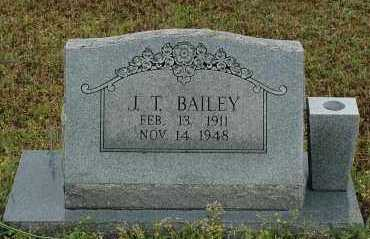 BAILEY, J.T. - Crawford County, Arkansas | J.T. BAILEY - Arkansas Gravestone Photos
