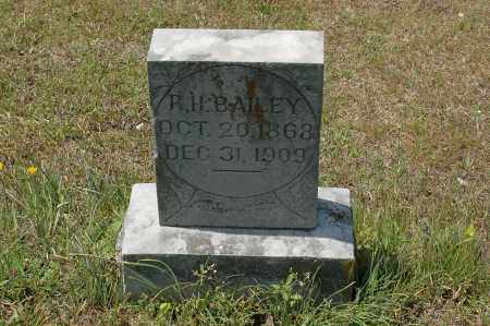 BAILEY, R. H. - Crawford County, Arkansas | R. H. BAILEY - Arkansas Gravestone Photos