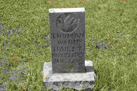 BAILEY, TRUMAN WARD - Crawford County, Arkansas | TRUMAN WARD BAILEY - Arkansas Gravestone Photos