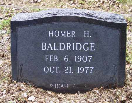 BALDRIDGE, HOMER H - Crawford County, Arkansas | HOMER H BALDRIDGE - Arkansas Gravestone Photos