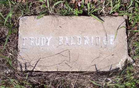 BALDRIDGE, TRUDY - Crawford County, Arkansas | TRUDY BALDRIDGE - Arkansas Gravestone Photos