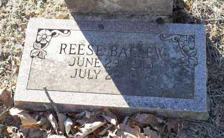 BALLEW, REESE - Crawford County, Arkansas | REESE BALLEW - Arkansas Gravestone Photos