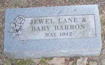 LANE BARRON, JEWEL - Crawford County, Arkansas | JEWEL LANE BARRON - Arkansas Gravestone Photos