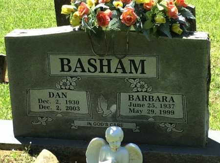 BASHAM, DAN - Crawford County, Arkansas | DAN BASHAM - Arkansas Gravestone Photos