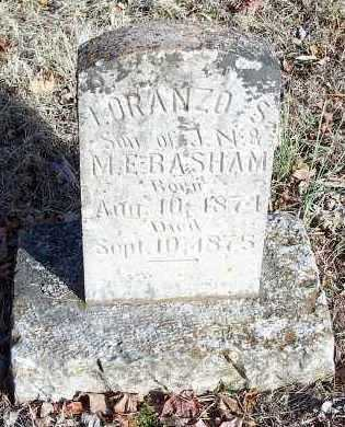 BASHAM, LORANZO S - Crawford County, Arkansas | LORANZO S BASHAM - Arkansas Gravestone Photos