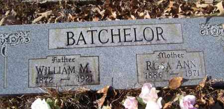 BATCHELOR, WILLIAM M - Crawford County, Arkansas | WILLIAM M BATCHELOR - Arkansas Gravestone Photos