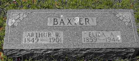 BAXTER, ARTHUR W. - Crawford County, Arkansas | ARTHUR W. BAXTER - Arkansas Gravestone Photos