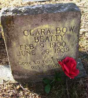 BEATTY, CLARA BOW - Crawford County, Arkansas | CLARA BOW BEATTY - Arkansas Gravestone Photos