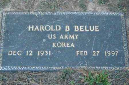 BELUE (VETERAN KOR), HAROLD B - Crawford County, Arkansas | HAROLD B BELUE (VETERAN KOR) - Arkansas Gravestone Photos