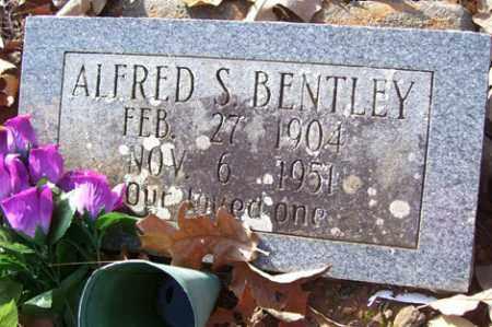 BENTLEY, ALFRED S - Crawford County, Arkansas | ALFRED S BENTLEY - Arkansas Gravestone Photos