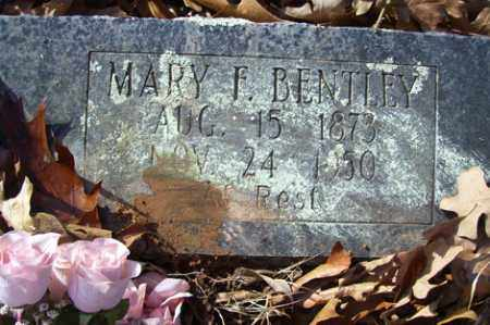 BENTLEY, MARY F - Crawford County, Arkansas | MARY F BENTLEY - Arkansas Gravestone Photos